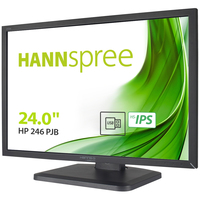 Hannspree Monitor 24 Fhd 1920X1080, 16:10, 300Cd/M, Ips, Usb Hub,  Vga, Dvi, Hdmi, Dp, Multimediale, 5Ms, Altezza Regolabile, Pivot