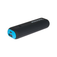 Power Bank Batteria Ricaricabile Vultech PB-2600B Rev 2.1 Blu e Nero 2600Mah 1A